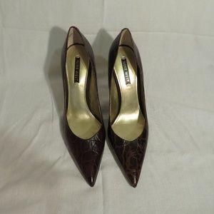 Nine West Brown 5' Heel